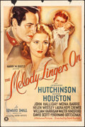 """Movie Posters:Musical, The Melody Lingers On (United Artists, 1935). One Sheet (27"""" X 41""""). Musical.. ..."""