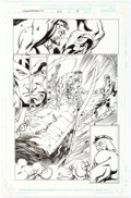 Original Comic Art:Panel Pages, Mark Bagley and Scott Hanna Thunderbolts #22 Story Page 18Original Art (Marvel, 1999)....