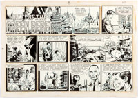 Joe Kubert Tales of the Green Beret Sunday Comic Strip Original Art dated 10-8-67 (Chicago Tribune, 1967)