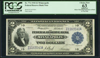 Fr. 772 $2 1918 Federal Reserve Bank Note PCGS Apparent Choice New 63