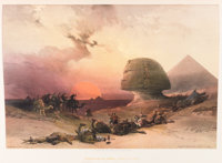 David Roberts. Egypt & Nubia, From Drawings Made on the Spot...With Historical Descr