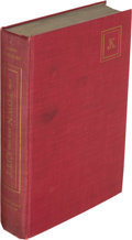 Books:Literature 1900-up, John [Jack] Kerouac. The Town and the City. New York: Harcourt, Brace and Company, [1950]. First edition, associat...