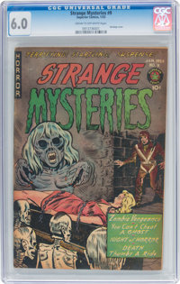 Strange Mysteries #9 (Superior Comics, 1953) CGC FN 6.0 Cream to off-white pages