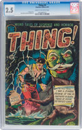Golden Age (1938-1955):Horror, The Thing! #4 (Charlton, 1952) CGC GD+ 2.5 Cream to off-white pages....