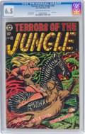 Golden Age (1938-1955):Adventure, Terrors of the Jungle #10 (Star Publications, 1954) CGC FN+ 6.5 Cream to off-white pages....