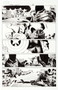 Original Comic Art:Panel Pages, Steve Epting Captain America #1 Story Page 17 Original Art(Marvel, 2005)....