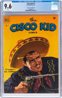 The Cisco Kid #2 Mile High Pedigree (Dell, 1951) CGC NM+ 9.6 White pages