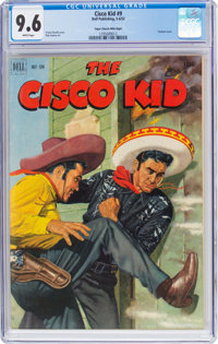 The Cisco Kid #9 Mile High Pedigree (Dell, 1952) CGC NM+ 9.6 White pages