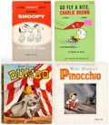 Books:Miscellaneous, Disney and Peanuts Related Books Group of 12 (Various Publishers) Condition: Average GD.... (Total: 12 Items)