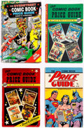 Books:Overstreet, Overstreet Comic Book Price Guide Group of 7 (Gemstone, 1972-98) Condition: Average FN-.... (Total: 7 Items)