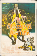 """Movie Posters:Science Fiction, The Colossus of New York (Paramount, 1958). One Sheet (27"""" X 41""""). Science Fiction.. ..."""