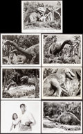 "Movie Posters:Science Fiction, Dinosaurus! (Universal International, 1960). Photos (28) (8"" X 10""). Science Fiction.. ... (Total: 28 Items)"
