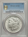 Morgan Dollars: , 1896-O $1 AU53 PCGS Secure. PCGS Population: (865/4379 and 0/39+). NGC Census: (869/4315 and 0/13+). CDN: $100 Whsle. Bid f...