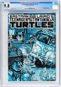 Modern Age (1980-Present):Alternative/Underground, Teenage Mutant Ninja Turtles #3 (Mirage Studios, 1985) CGC NM/MT9.8 White pages....