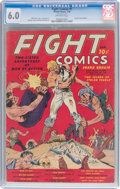 Golden Age (1938-1955):Miscellaneous, Fight Comics #1 (Fiction House, 1940) CGC FN 6.0 Off-white pages....