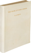 Books:Children's Books, A. A. Milne. The House at Pooh Corner. With decorations byErnest H. Shepard. London: Metheun & Co., 1928. First...