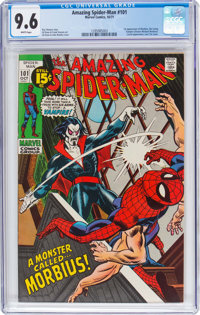 The Amazing Spider-Man #101 (Marvel, 1971) CGC NM+ 9.6 White pages
