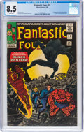 Silver Age (1956-1969):Superhero, Fantastic Four #52 (Marvel, 1966) CGC VF+ 8.5 White pages....