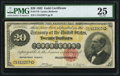 Large Size:Gold Certificates, Fr. 1178 $20 1882 Gold Certificate PMG Very Fine 25.. ...