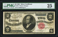 Large Size:Silver Certificates, Fr. 246 $2 1891 Silver Certificate PMG Very Fine 25.. ...