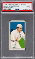 Baseball Cards:Singles (Pre-1930), 1909-11 T206 Sweet Caporal 350/30 Paddy Livingston PSA Mint 9 - Pop One, None Higher! ...