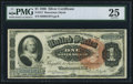 Large Size:Silver Certificates, Fr. 217 $1 1886 Silver Certificate PMG Very Fine 25.. ...