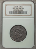 1816 1C N-2, R.1, MS64 Brown NGC....(PCGS# 36526)