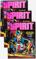 Magazines:Superhero, The Spirit #1 Group of 3 (Warren, 1974) Condition: AverageVF/NM.... (Total: 3 Comic Books)