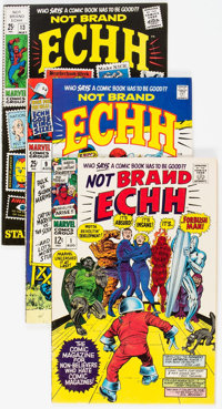 Not Brand Echh #1-13 Group (Marvel, 1967-69) Condition: Average FN+.... (Total: 13 Comic Books)