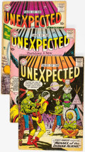Silver Age (1956-1969):Horror, Tales of the Unexpected Group of 56 (DC, 1959-67) Condition:Average GD/VG.... (Total: 56 Comic Books)