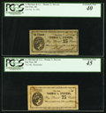 Obsoletes By State:Michigan, Paw Paw, MI- Thomas L. Stevens 25¢; 75¢ Oct. 16, 1862; Remainder . ... (Total: 2 notes)