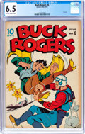 Golden Age (1938-1955):Science Fiction, Buck Rogers #6 (Eastern Color, 1943) CGC FN+ 6.5 Off-white to whitepages....