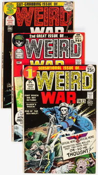 Weird War Tales Near Complete Run Short Box Group (DC, 1971-83) Condition: Average FN