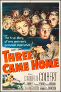 "Movie Posters:War, Three Came Home & Others (20th Century Fox, 1949). One Sheets (6) (27"" X 41""), Lobby Card Sets of 8 (3 Sets), Title Card & L... (Total: 40 Items)"