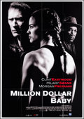 "Movie Posters:Sports, Million Dollar Baby (Warner Brothers, 2004). Italian 4 - Fogli (55""X 78""). Sports.. ..."