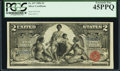 Large Size:Silver Certificates, Fr. 247 $2 1896 Silver Certificate PCGS Extremely Fine 45PPQ.. ...