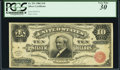 Large Size:Silver Certificates, Fr. 291 $10 1886 Silver Certificate PCGS Very Fine 30.. ...