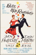 """Movie Posters:Musical, Bells Are Ringing (MGM, 1960). Folded, Very Fine. One Sheet (27"""" X41""""). Musical.. ..."""