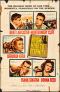 """Movie Posters:Academy Award Winners, From Here to Eternity (Columbia, 1953). One Sheet (27"""" X 41""""). Academy Award Winners.. ..."""