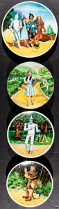 """Movie Posters:Fantasy, The Wizard of Oz Lot (Knowles China Company, 1977-1979). Limited Edition Plates (5) (8.5"""" & 10"""" Diameters) James Auckland Ar... (Total: 6 Items)"""