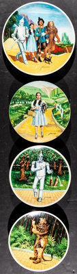 "The Wizard of Oz Lot (Knowles China Company, 1977-1979). Limited Edition Plates (5) (8.5"" & 10"" Diamet..."