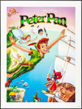 """Movie Posters:Animation, Peter Pan (Warner Brothers, R-1990s). French Grande (47"""" X 62""""). Animation.. ..."""
