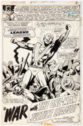 "Original Comic Art:Panel Pages, Dick Dillin and Dick Giordano Justice League of America #112""War with the One-Man Justice League!"" Partial Story ... (Total: 19Original Art)"