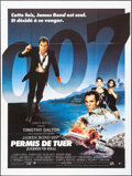 """Movie Posters:James Bond, Licence to Kill & Other Lot (United Artists, 1989). Folded, Overall: Very Fine. French Grande (47"""" X 62.5""""), French Pantalon... (Total: 3 Items)"""