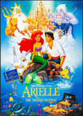 "Movie Posters:Animation, The Little Mermaid (Buena Vista, 1990 & 1989). German A0 (33"" X 46.75"") & Mini Poster (18.5"" X 27"") SS Advance. Animation.. ... (Total: 2 Items)"