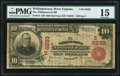 National Bank Notes:West Virginia, Williamstown, WV - $10 1902 Red Seal Fr. 613 The Williamstown NB Ch. # (S)6233. ...