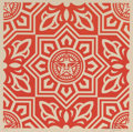 Fine Art - Work on Paper:Print, Shepard Fairey (b. 1970). Venice Pattern Set (three works), 2009. Screenprints in colors on cream speckled paper. 18 x 1... (Total: 3 Items)