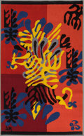 Furniture , After Henri Matisse. Mimosa, 1951. Hand-woven wool tapestry. 57-1/2 x 36 inches (146.1 x 91.4 cm). Edition of 500. Woven...