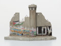 Fine Art - Sculpture, American:Contemporary (1950 to present), After Banksy . Defeated , 2018. Painted cast resin withconcrete. 4-1/2 x 7 x 4-1/4 inches (11.4 x 17.8 x 10.8 cm). ...