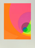 Prints & Multiples, Herb Aach (1923-1985). Split Infinity #9BS, 1980. Serigraph in colors on paper. 30 x 22-1/2 inches (76.2 x 57.2 cm) (ima...